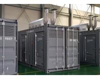 저소음 컨테이너 발전기 Set
